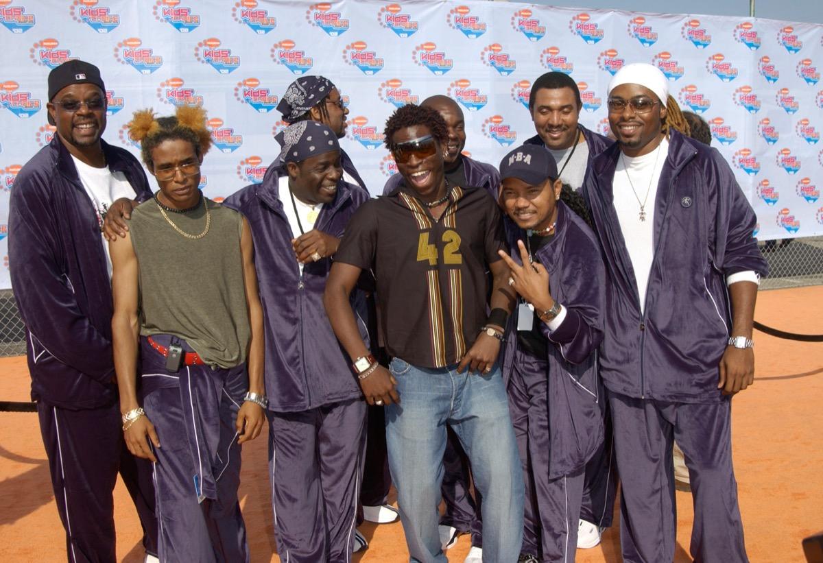 baha men at Nickelodeon's 15th Annual Kids Choice Awards in Santa Monica