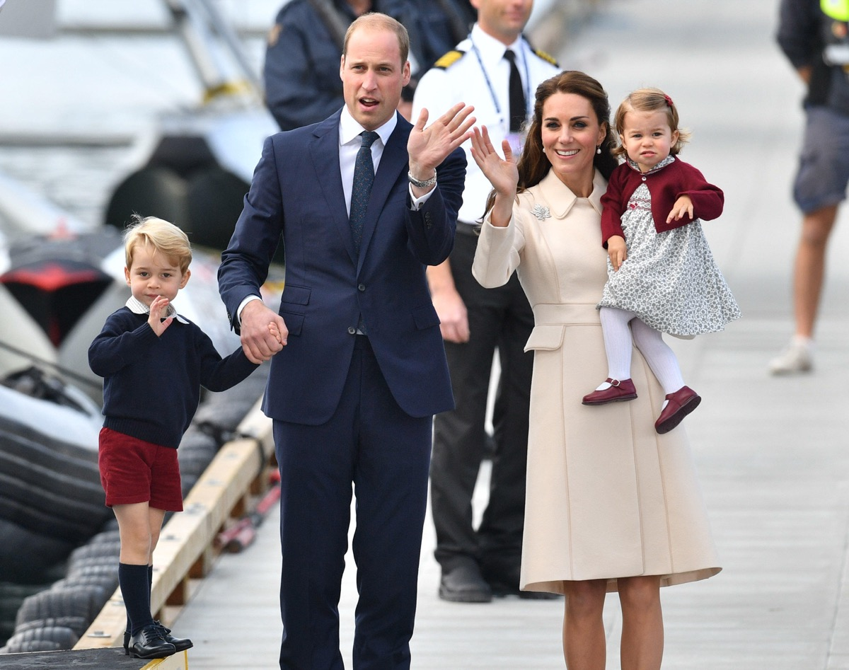 The Duke and Duchess of Cambridge, Prince George and Princess Charlotte spend a private Christmas with the Middleton family in 2016