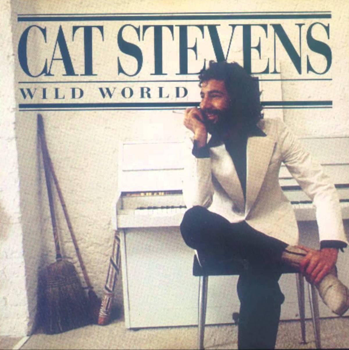 """cat stevens' album cover for """"wild world"""""""
