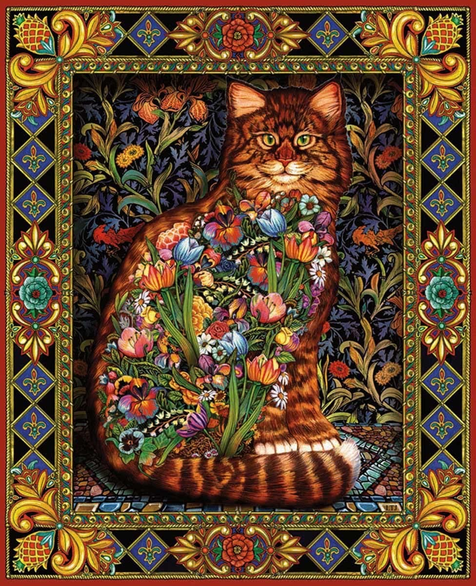 cat tapestry puzzle