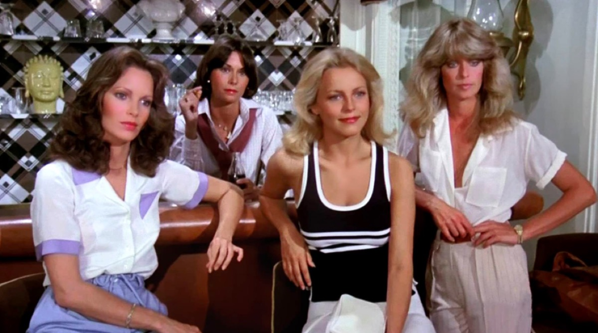 A still from the Charlie's Angels TV series