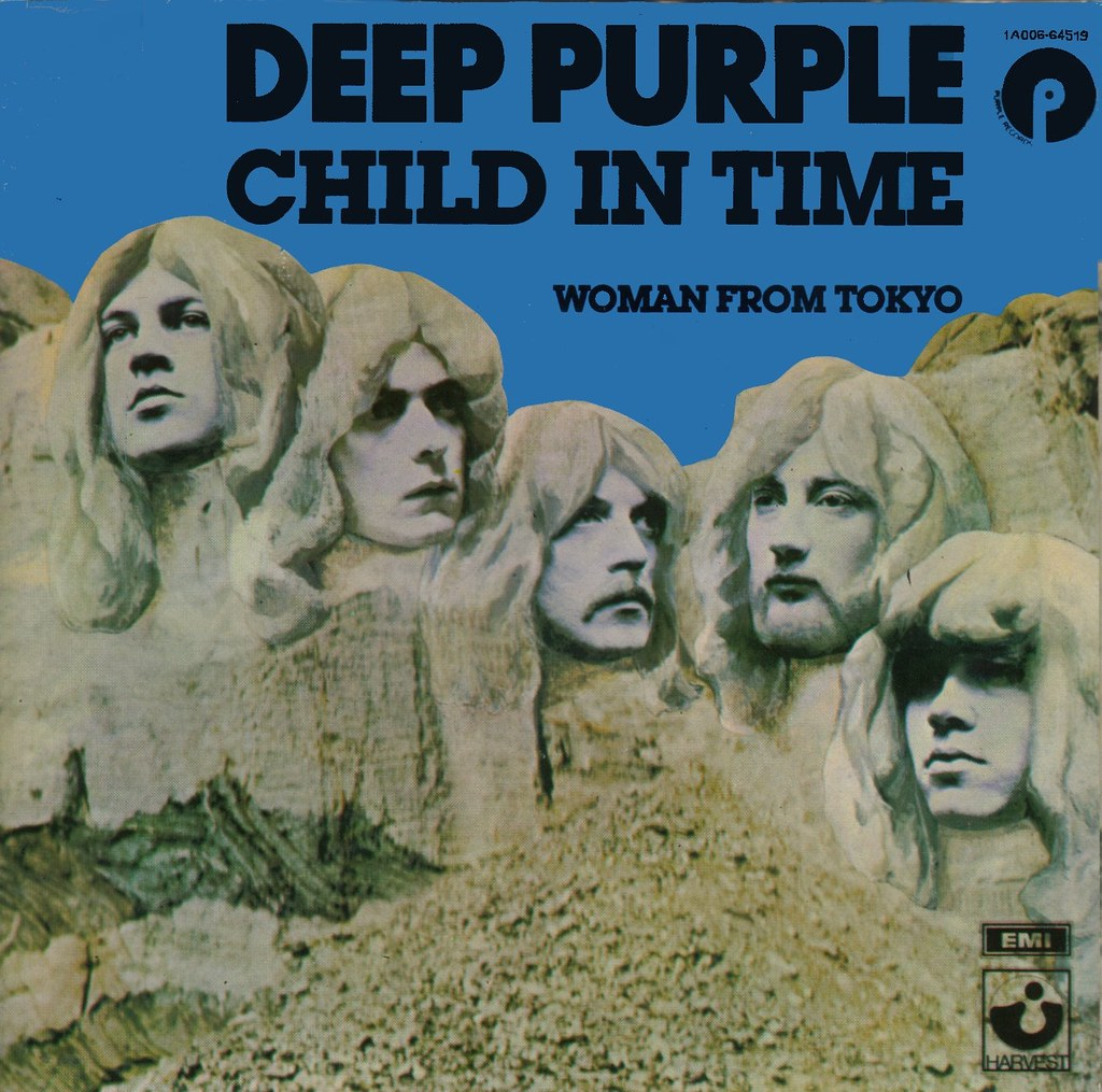 child in time album cover by deep purple