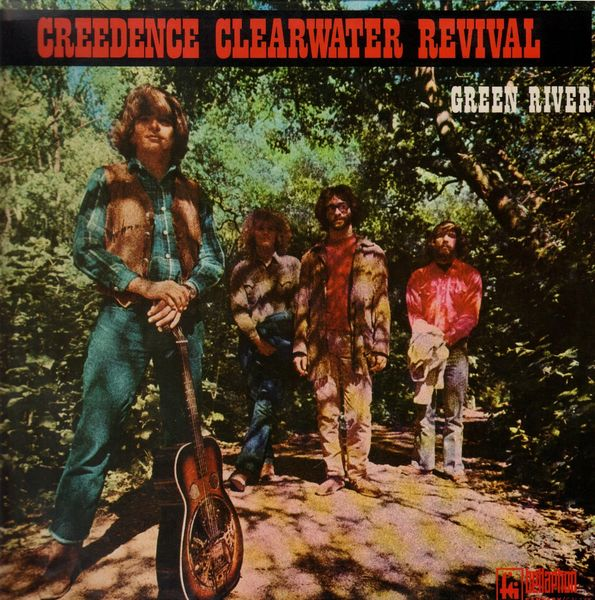 creedence clearwater revival green river album cover
