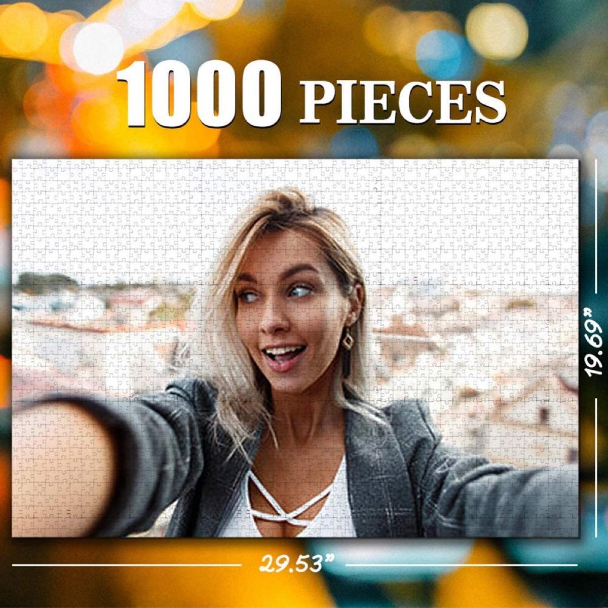 1000-piece custom photo puzzle