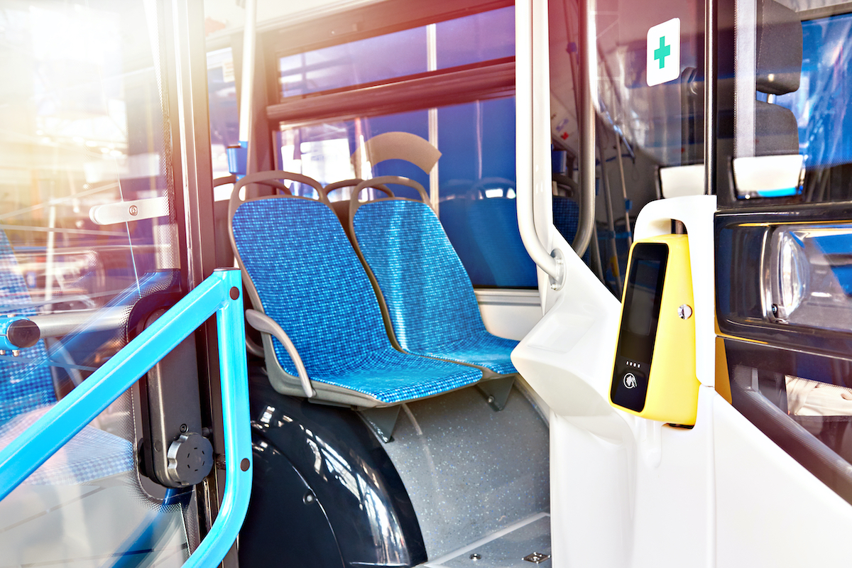 farebox on bus