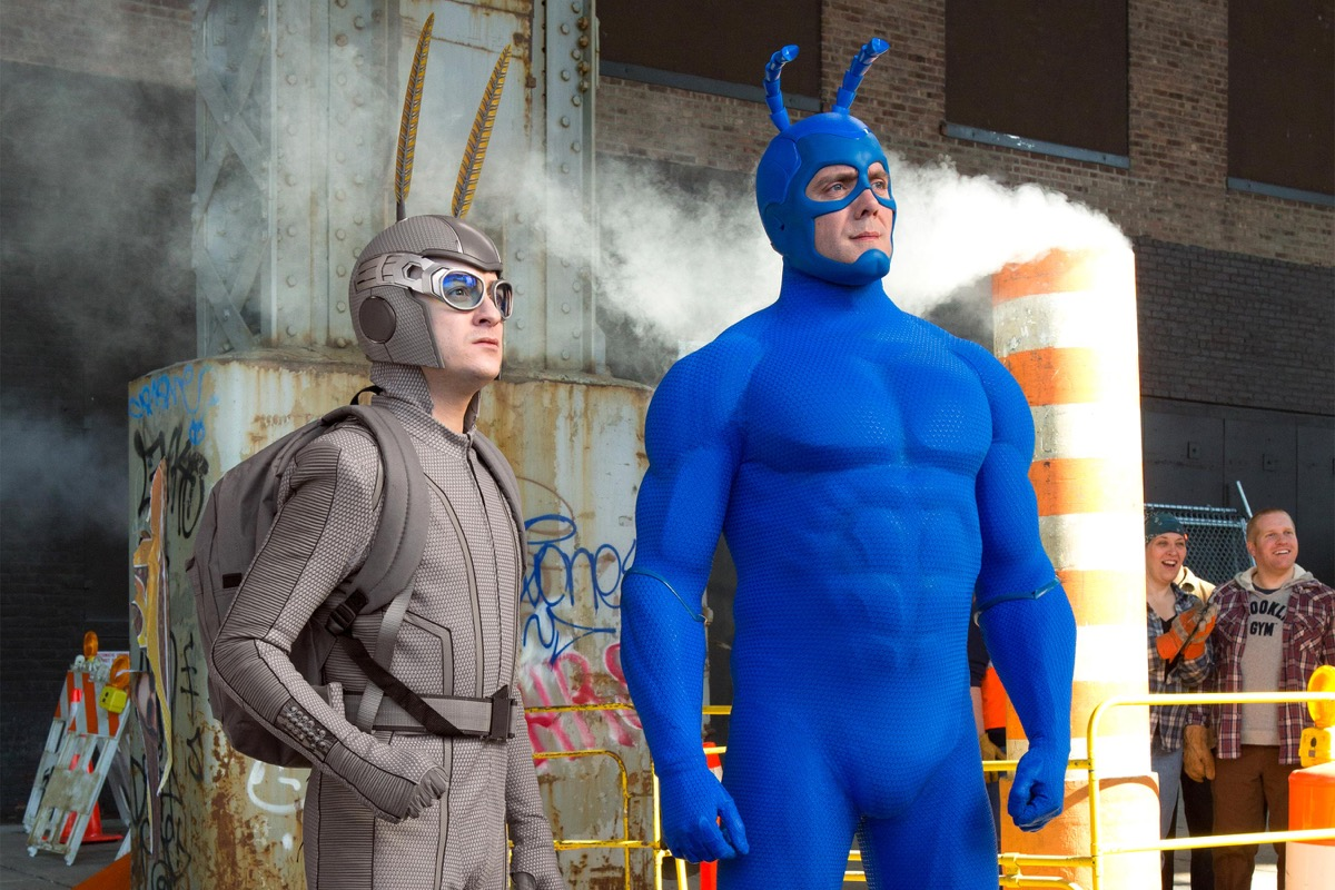 griffin newman and peter serafinowicz on the tick
