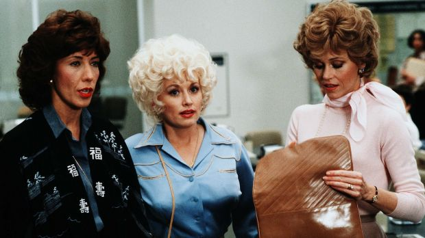 lily tomlin dolly parton and jane fonda in 9 to 5