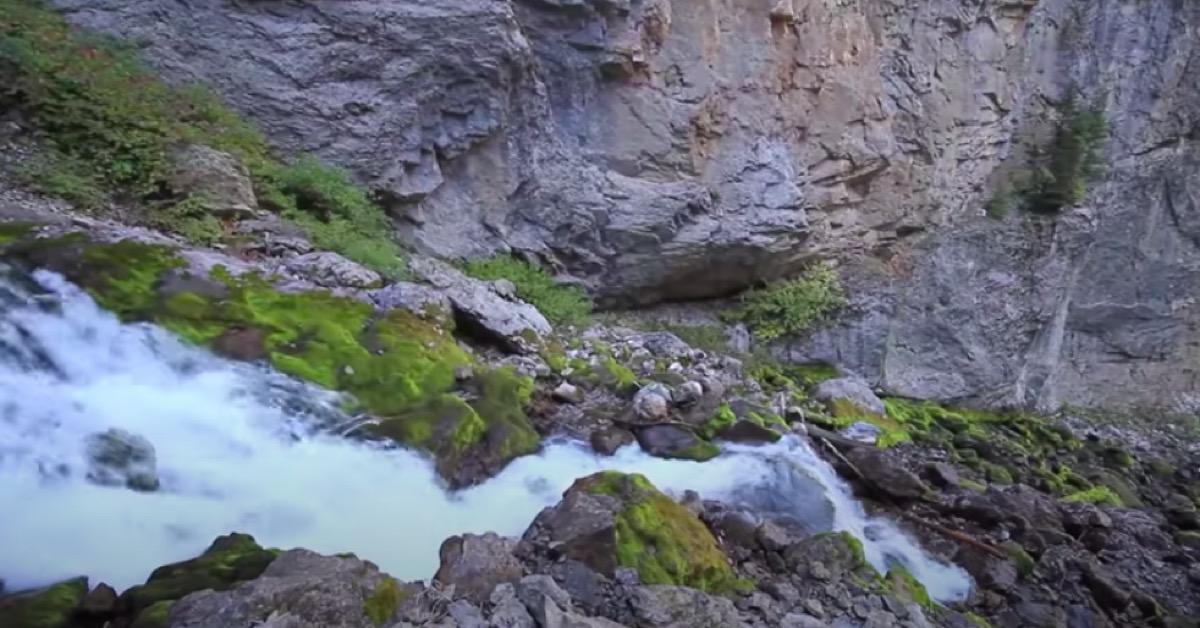 Intermittent Spring, Star Valley, Wyoming