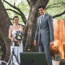 Kaitlin dilworth zoom marriage wedding photos