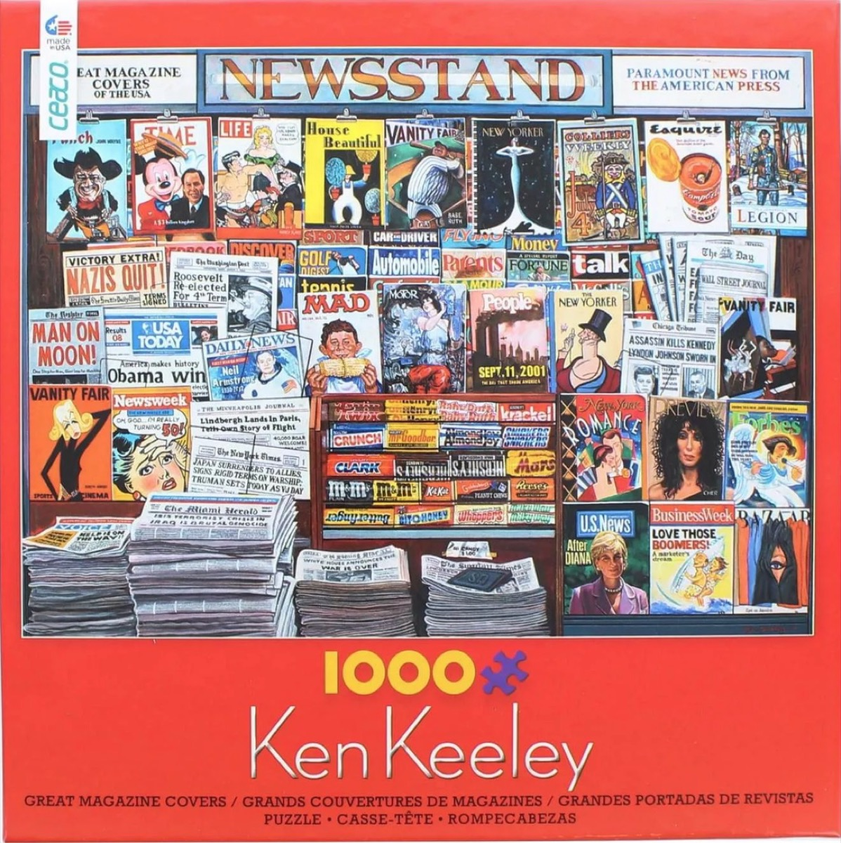 newsstand magazine cover puzzle