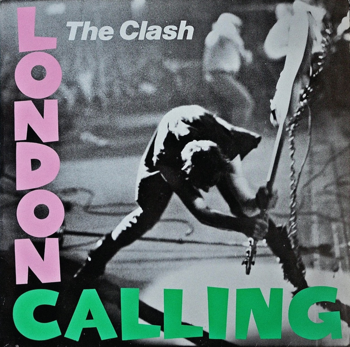 London Calling - Vintage vinyl album cover