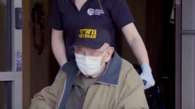 """oldest covid 19 survivor William """"Bill"""" Lapschies"""