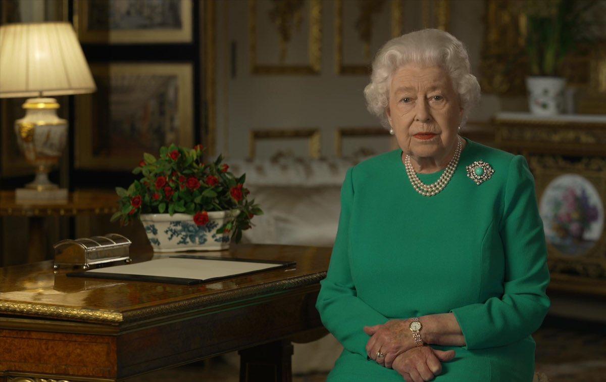 queen elizabeth addresses coronavirus on television