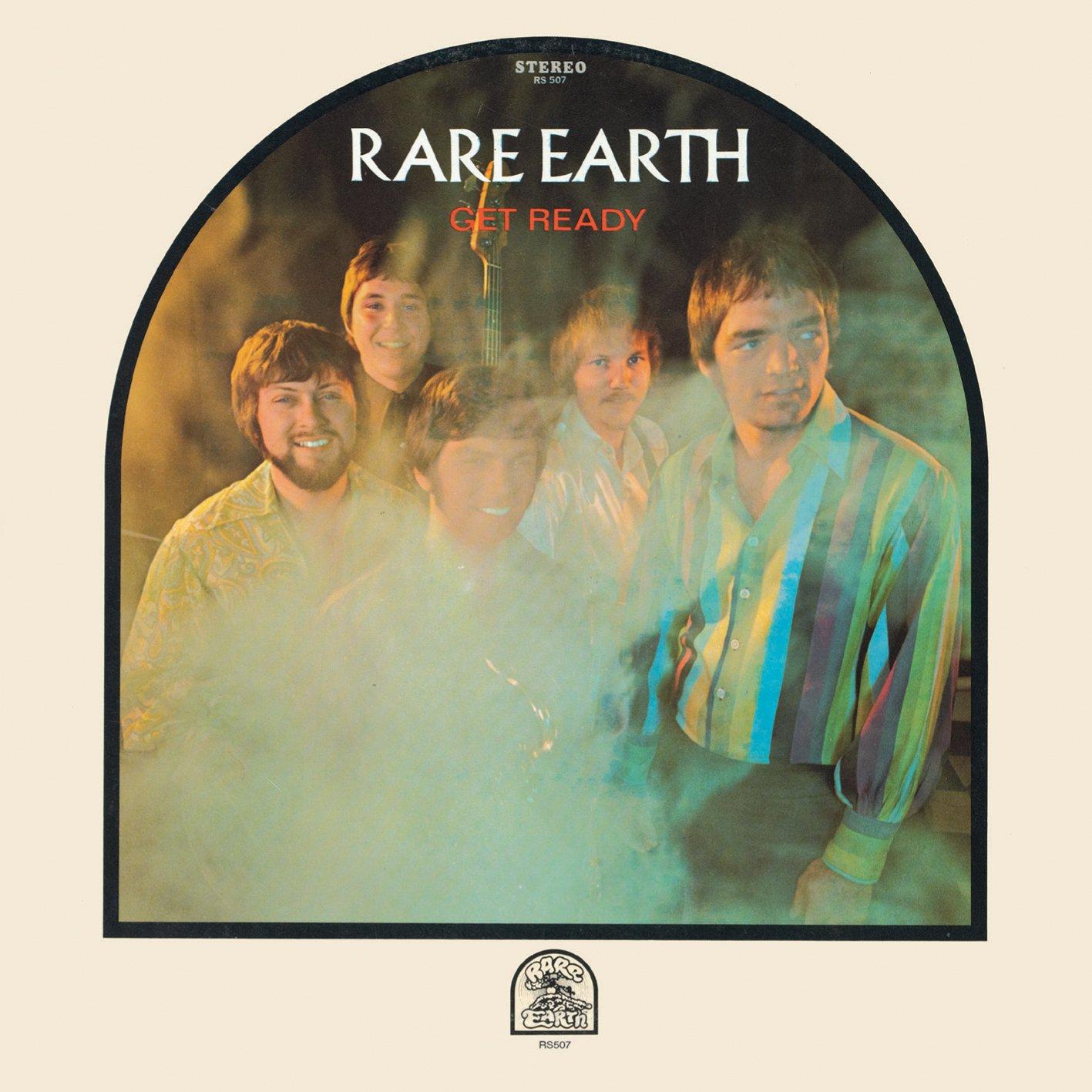 "rare earth album cover for ""get ready"""