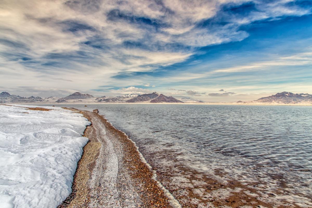 Bonneville Salt Flats, Tooele County, Utah