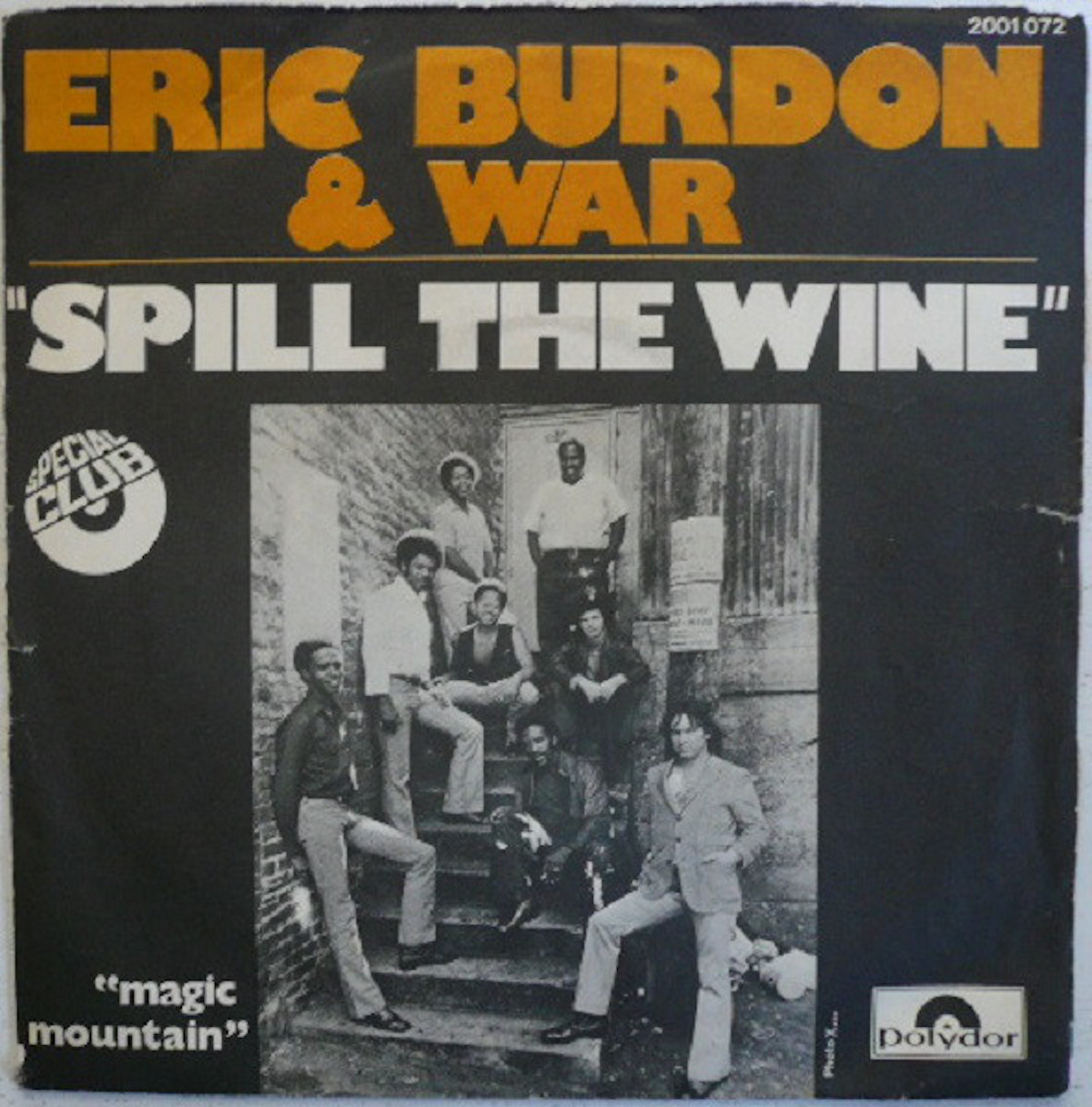 spill the wine album cover by eric burdon and war