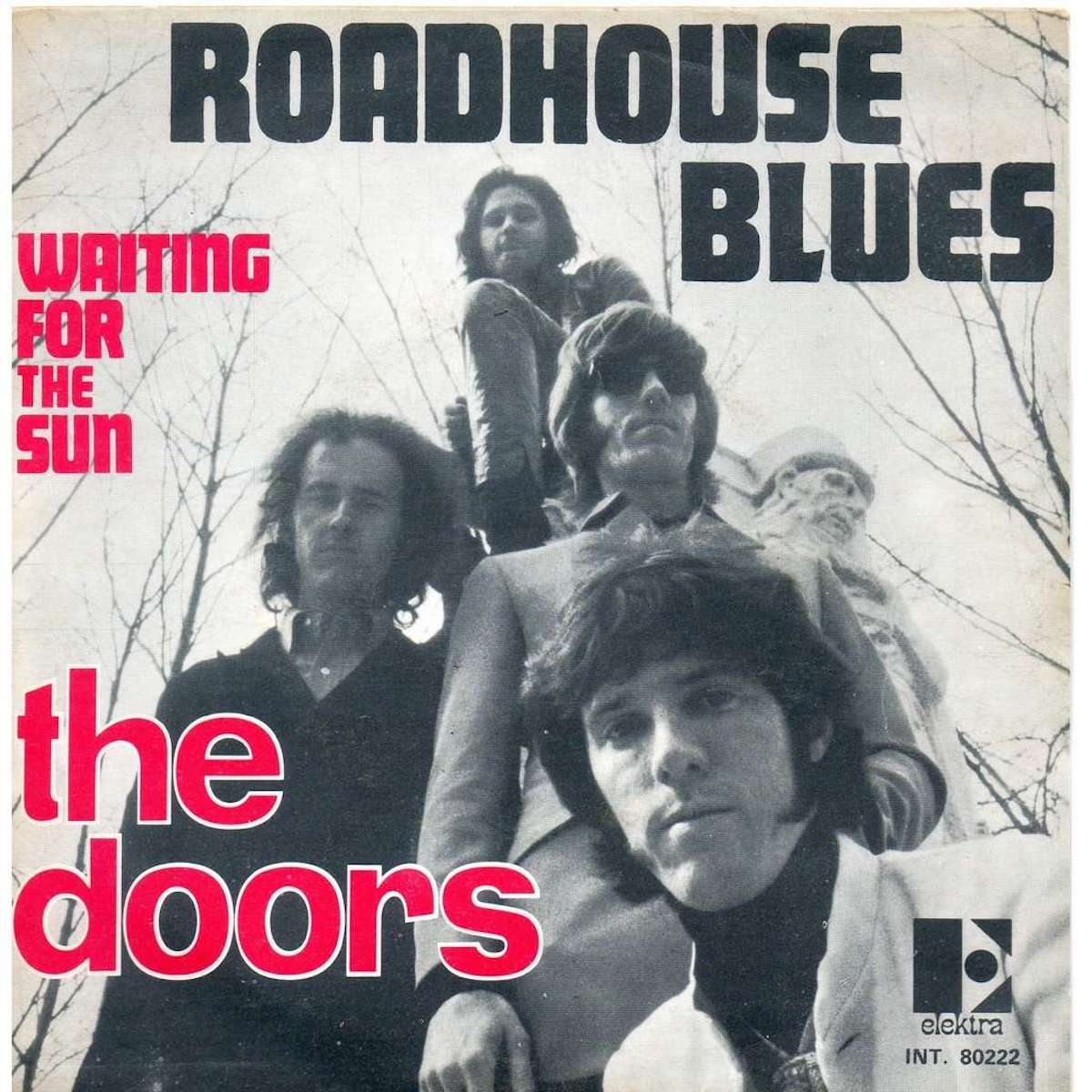 """the doors' album cover for """"roadhouse blues"""""""