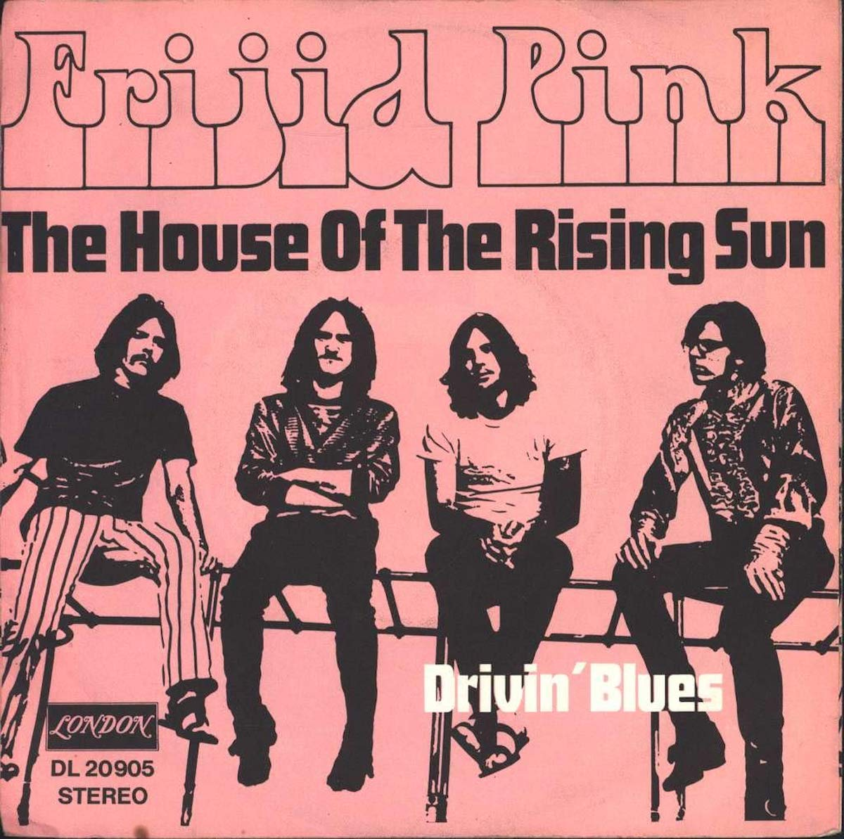 """album cover for frijid pink's """"the house of the rising sun"""""""