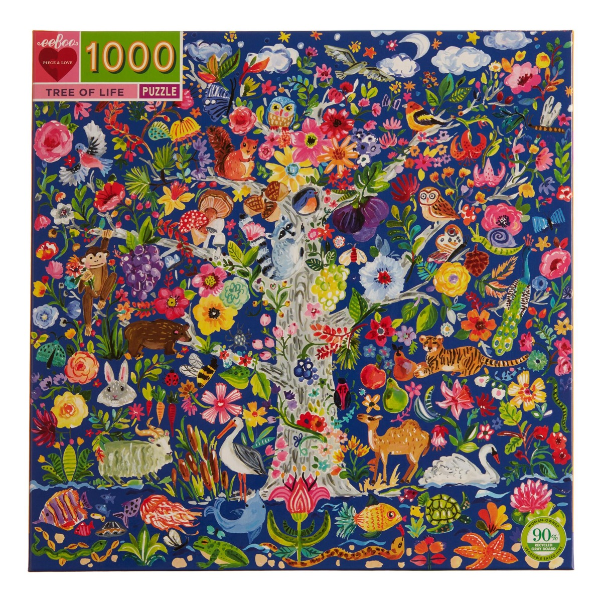 tree of life multicolored puzzle