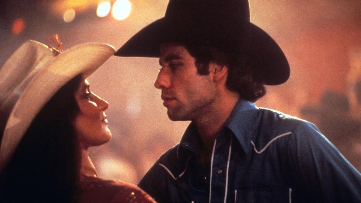 debra winger and john travolta in urban cowboy