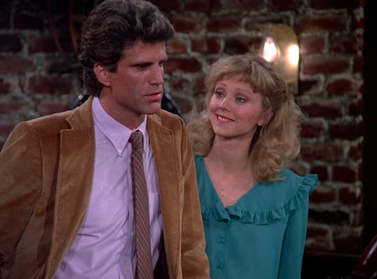 Ted Danson and Shelley Long