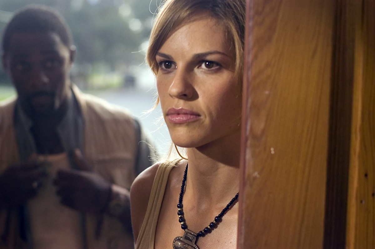 hilary swank in the reaping