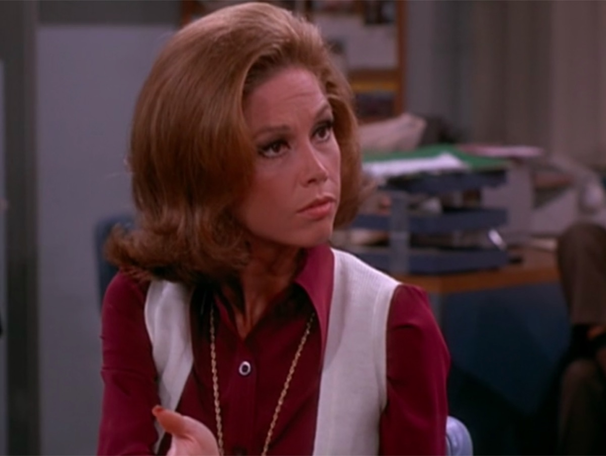 Mary Tyler Moore in The Mary Tyler Moore Show