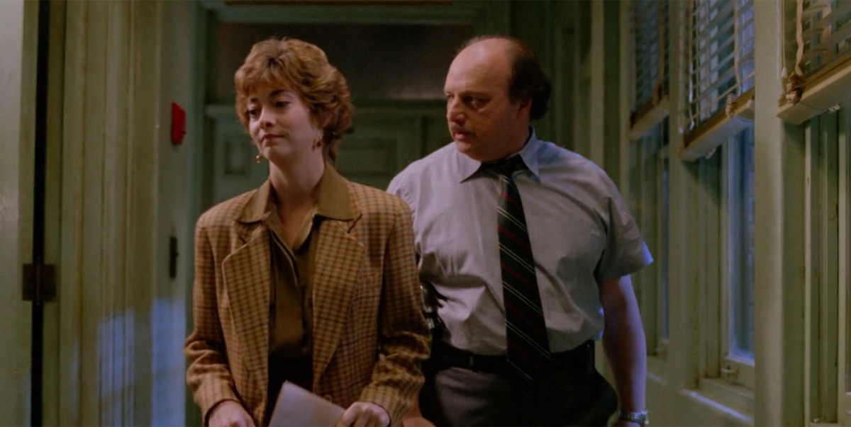 Sharon Lawrence and Dennis Franz in NYPD Blue
