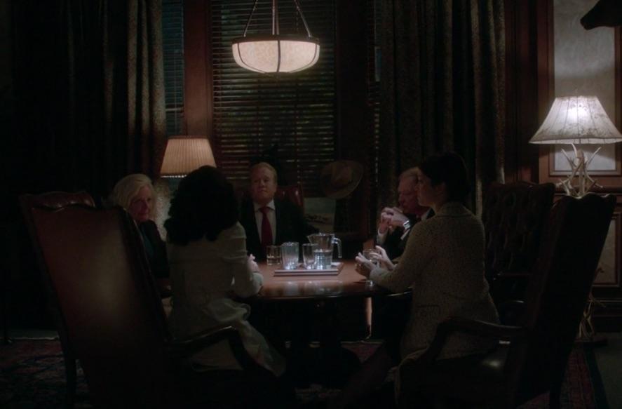 """Still from Scandal episode """"Beltway Unbuckled"""""""