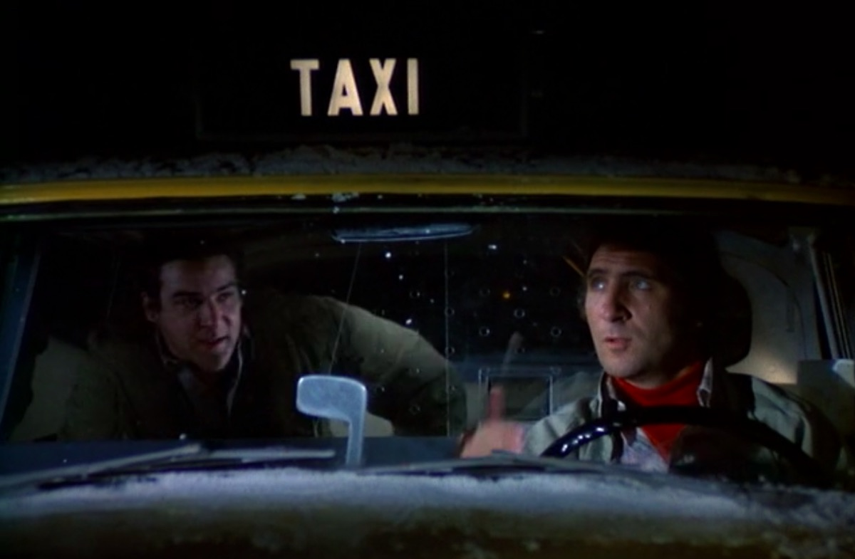 Mandy Patinkin and Judd Hirsch in Taxi