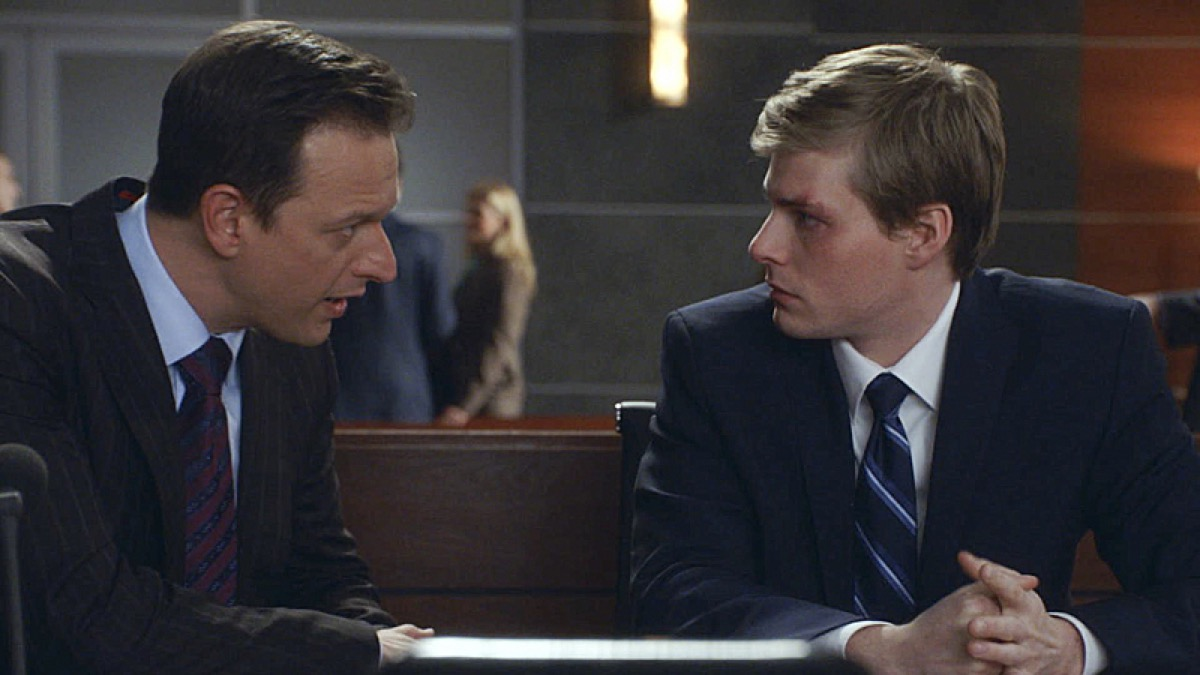 Josh Charles and Hunter Parrish in The Good Wife