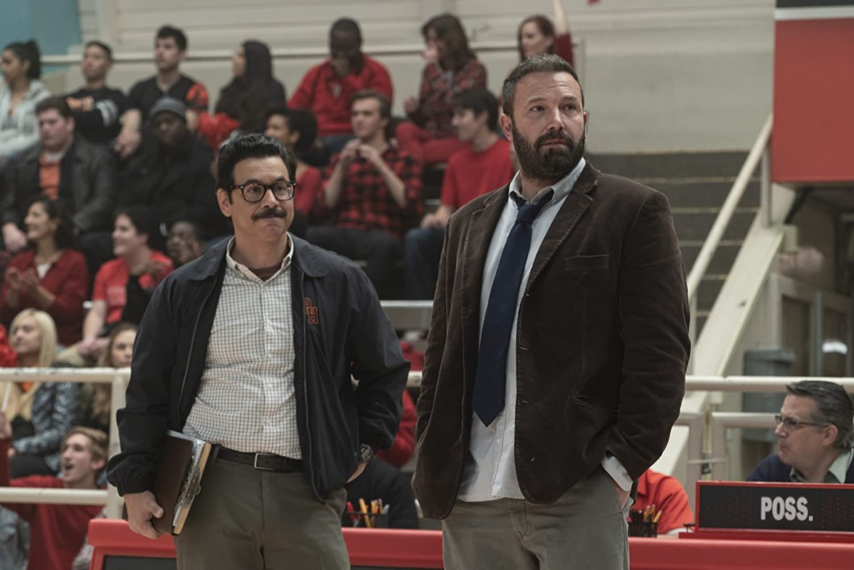 Al Madigral and Ben Affleck in The Way Back