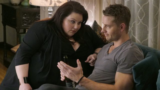 Chrissy Metz and Justin Hartley in This Is Us