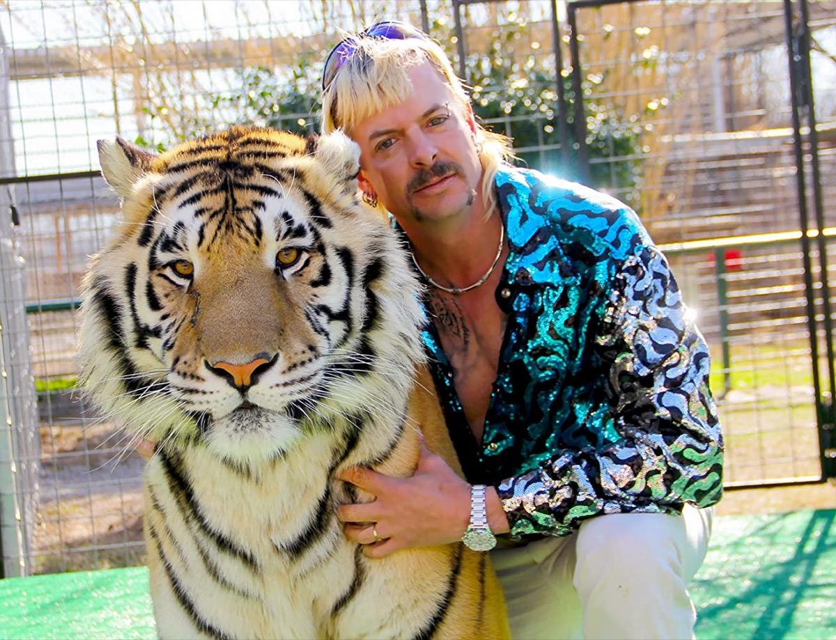 Joe Exotic in Tiger King: Murder, Mayhem, and Madness