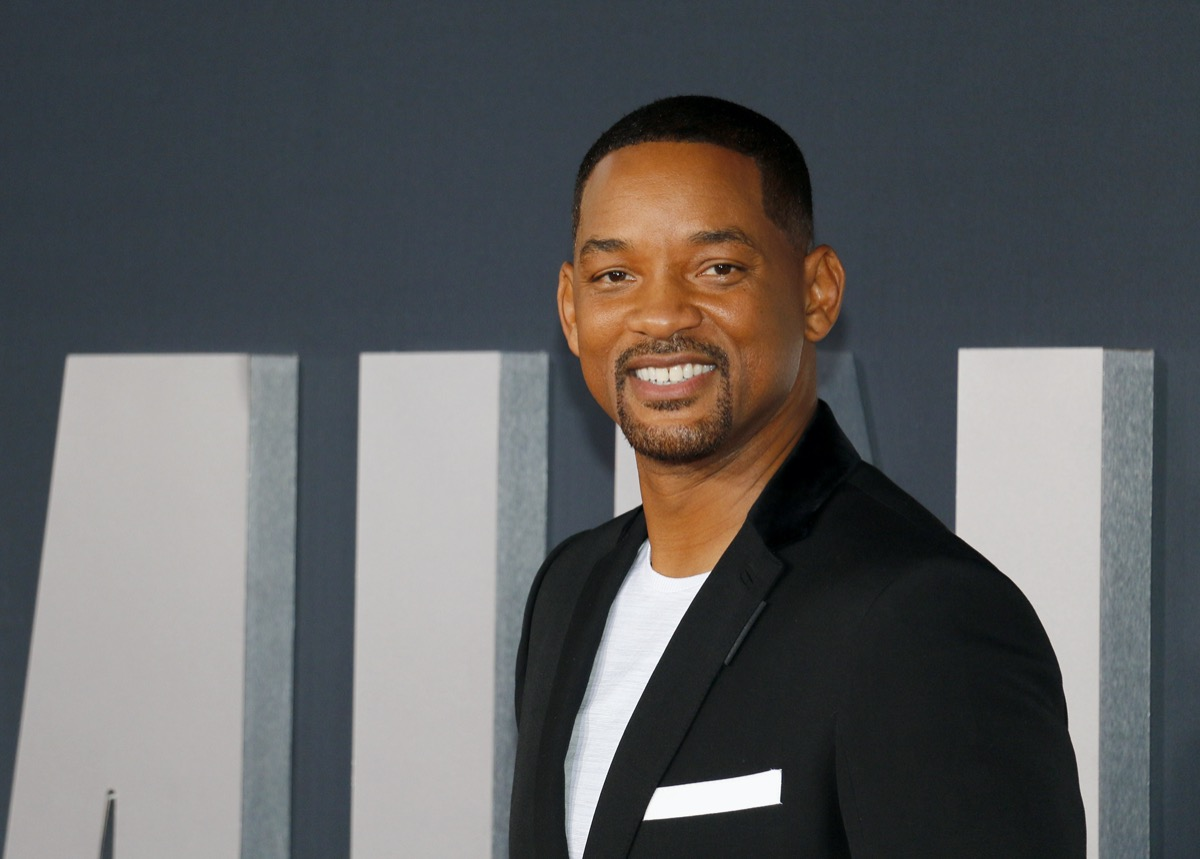 Will Smith at the premiere of Gemini Man