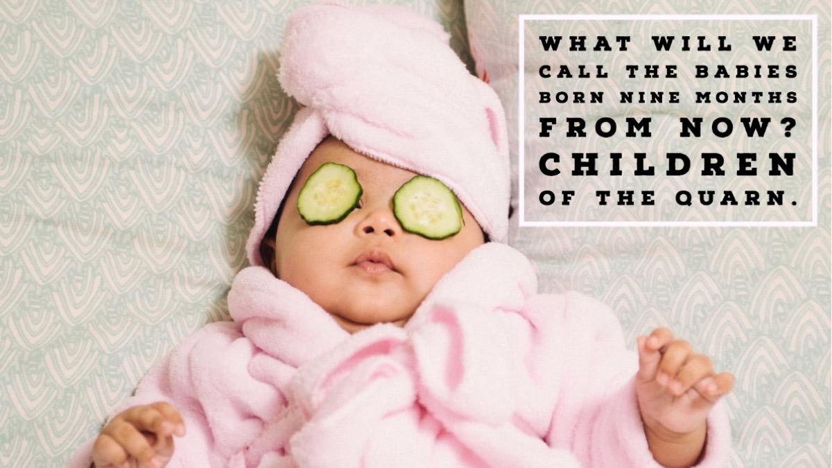 Baby coronavirus joke