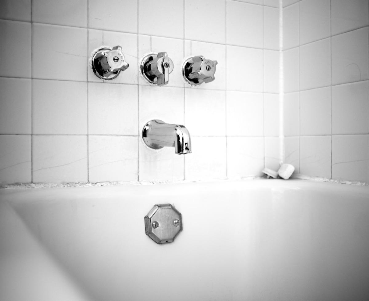 bathtub overflow faceplate