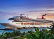 carnival cruise ship at port
