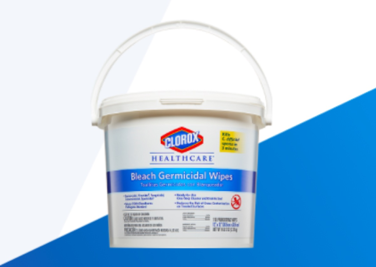 Clorox Healthcare® Bleach Germicidal Wipes