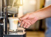 Self-serve coffee machine