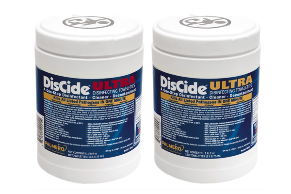 Discide Ultra Disinfecting Towelettes