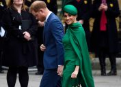 The Duke and Duchess of Sussex arrive at Westminster Abbey to attend the annual church service on Commonwealth Day