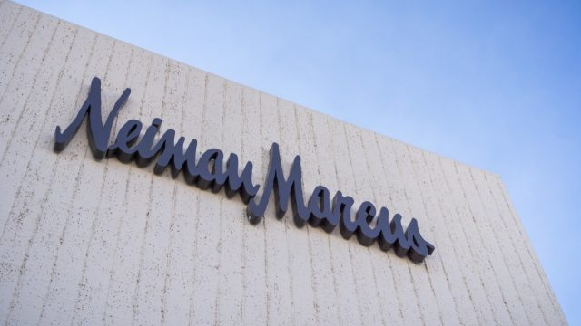 Neiman Marcus storefront in the sky