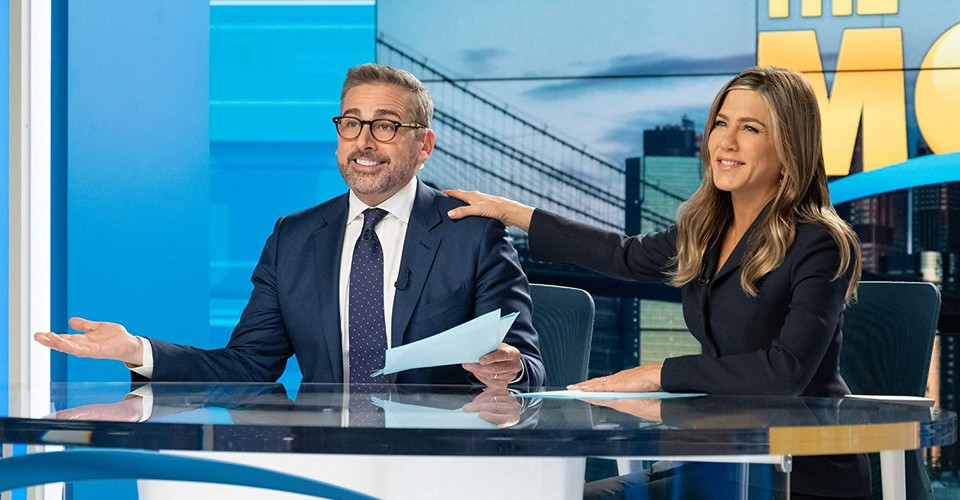 steve carell and jennifer aniston on the morning show