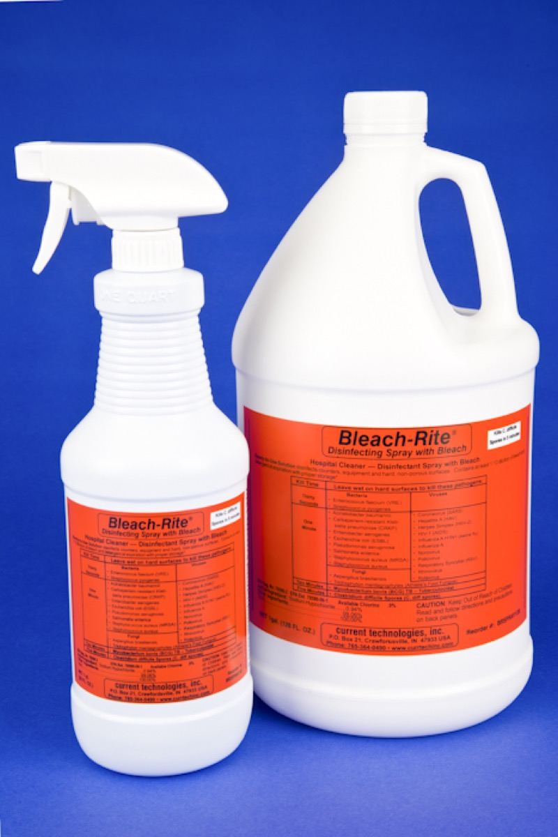 Bleach-rite Disinfecting Spray With Bleach