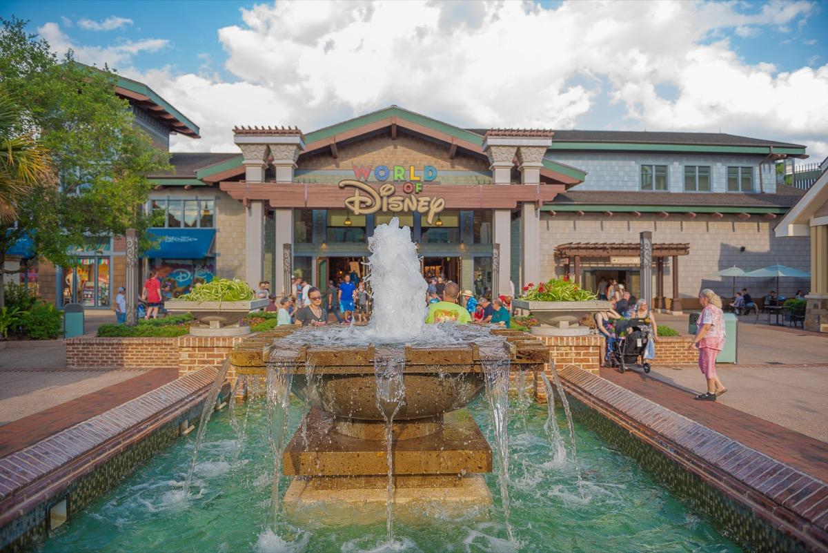 World of Disney store in Disney Springs