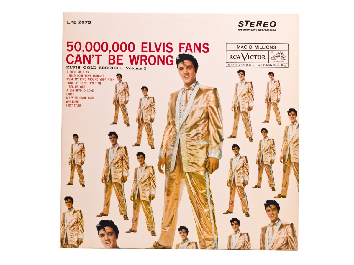 Elvis Presley Record —50,000,00 Elvis Fans Can't Be Wrong