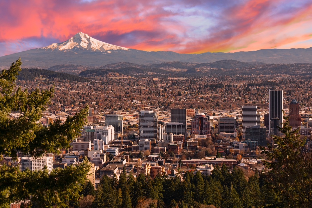 Portland OR view