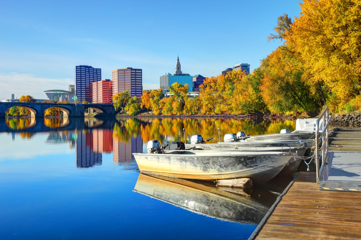 Hartford is the capital of the U.S. state of Connecticut. Hartford is known for its attractive architectural styles and being the Insurance capital of the United States