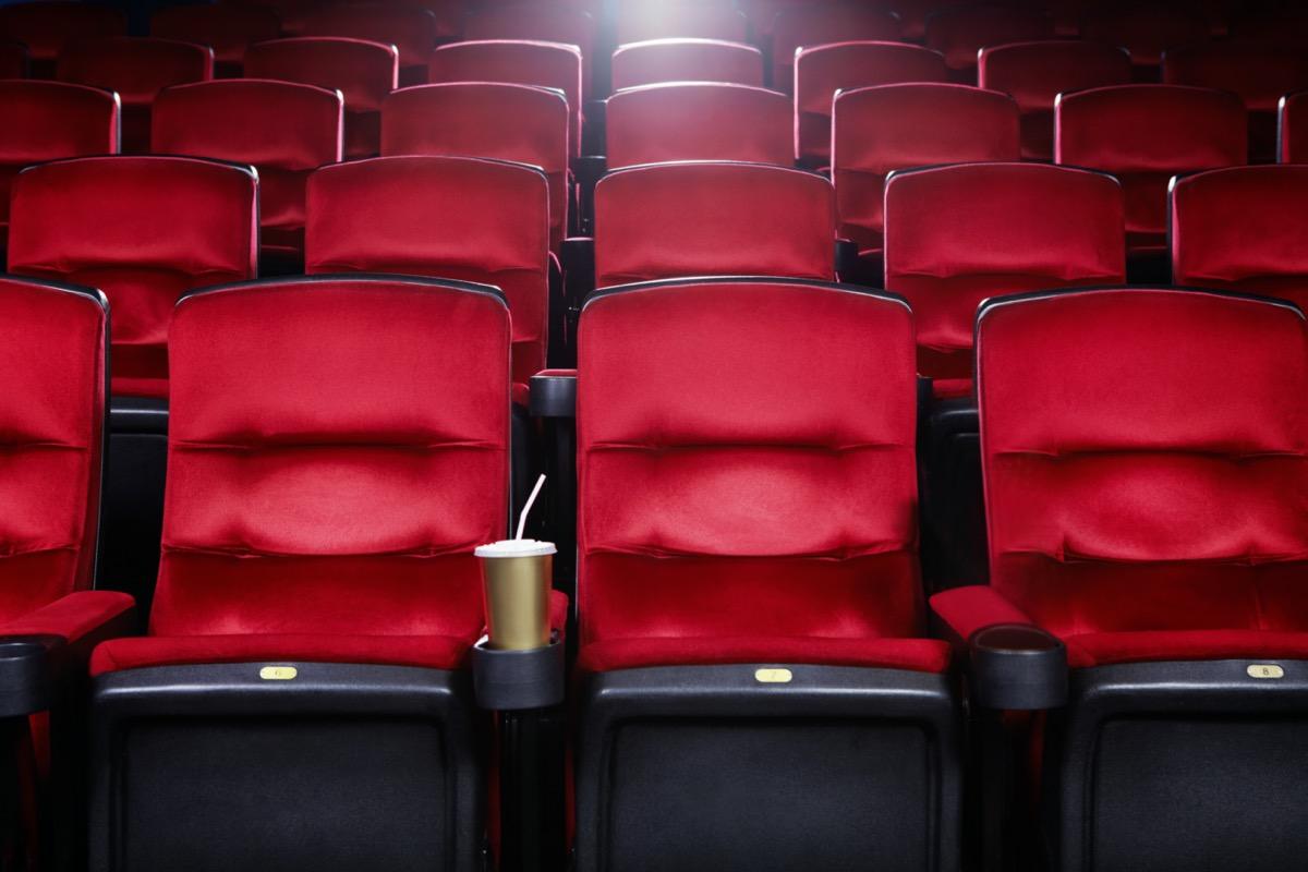 empty movie theater seats